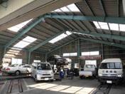 自動車整備作業場