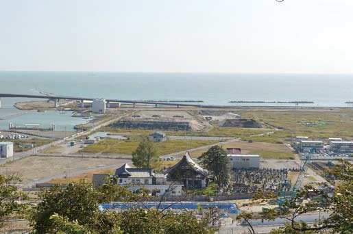 津波被害の東北